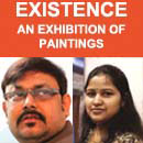 Existence Duet Exhibition of painting