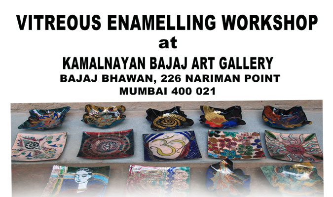 Workshop on Vitreous Enamelling by Kana Lomror